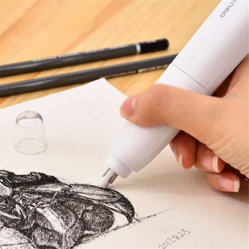 [해외]Electric eraser fan art high light sketch automatic eraser painting electric eraser/Electric eraser fan art high light sketch automatic eraser pai