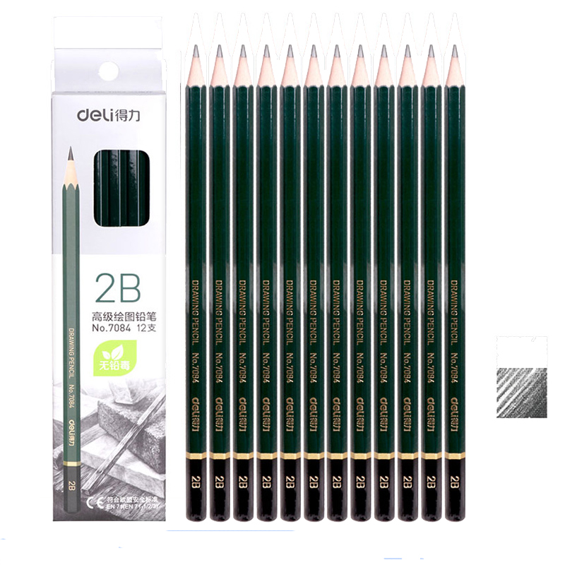 [해외]더 0.1은 지우개 1 개와 연필 깎이 1 개 2B 연필 HB 2H 나무 연필 학생 학습 시험 그림 그리기/More 0.1 get one  Eraser and one Pencil Sharpener 2B Pencil HB 2H Wood pencil Student