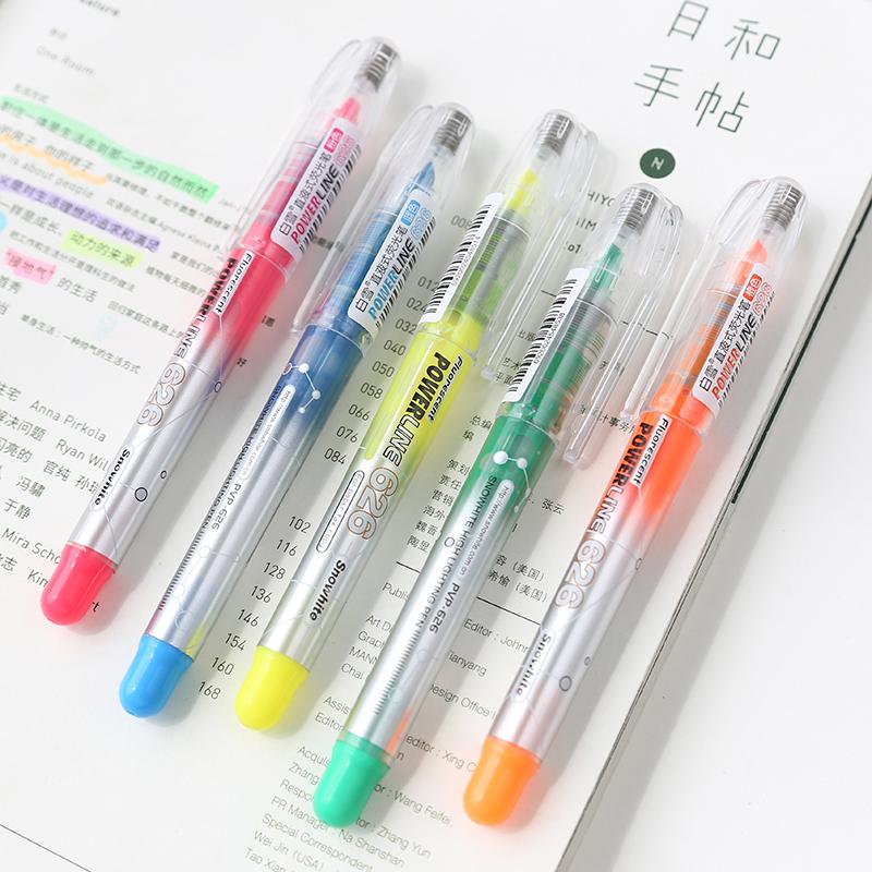 [해외]Unikiwi 직접 액체 형광 펜 Lant 단일 헤드 형광펜 컬러 마크 펜 학교 용품/Unikiwi Direct Liquid Fluorescent Pen Lant Single Head Highlighters Color Mark Pen School Supplies