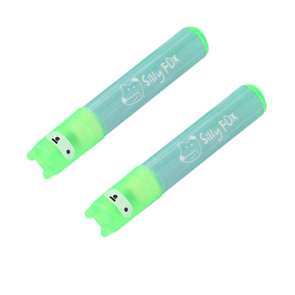 [해외]2 피스 오피스 상상력 6 색 미니 형광펜 마크 펜 형광펜/2 Piece Office Imaginative 6 Color Mini Highlighter Mark Pen Fluorescent Pen