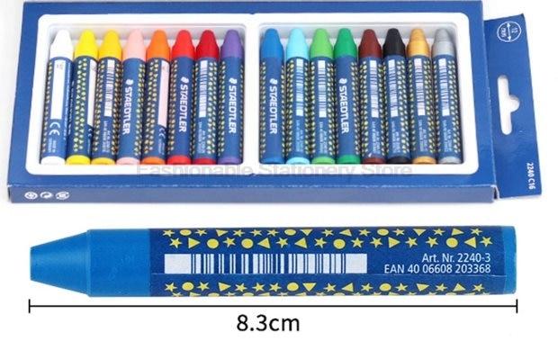 [해외]STAEDTLER 2240 C6 12mm 6 색 아티스트 학생들을오일 파스텔 드로잉 펜 학교 문구 용품 아트 용품 왁스 크레용/STAEDTLER 2240 C6 12mm 6 color Oil Pastel for Artist Students Drawing Pen S