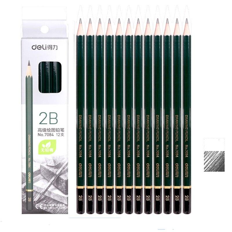 [해외]/              Learning Examination Writing Drawing Creative Student Supply   7082 sample price Wooden 2B HB 2H Pencil