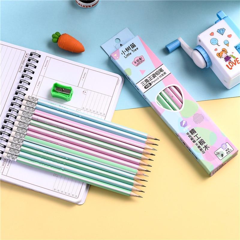 [해외]크리 에이 티브/w17/쓰기 세트에 대 한 12 개/몫 패션/파스텔 lapis 쓰기 크리 에이 티브 펜 크레용 회화 흑연 05840 연필