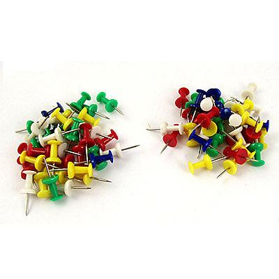 [해외]사무실에 대 한 35pcs 다채로운 플라스틱 머리 금속 팁 푸시 핀/35pcs Colorful Plastic Head Metal Tip Push Pin for Office
