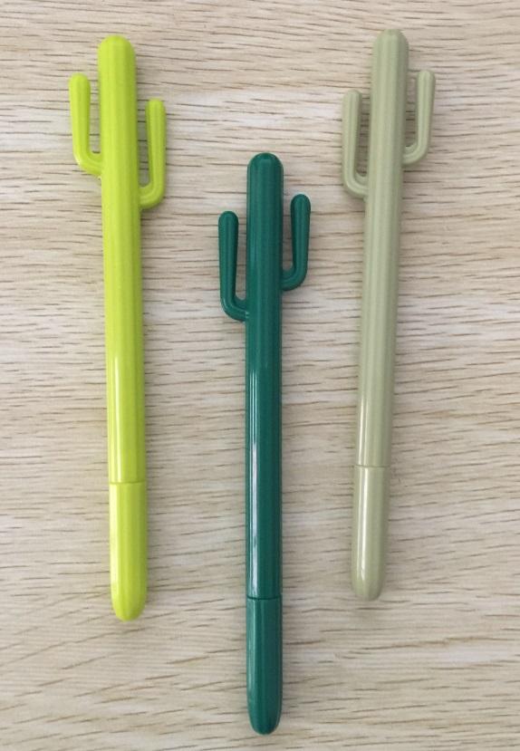 [해외]50 pc / lot,, 선인장 스타일 젤 펜 한국어 편지지 귀여운 빅 사이즈 크리 에이 티브 학교 용품, 3 색/50 pcs/lot, Wholesales, ,  Cactus Style Gel Pen Korean Stationery Cute Big Size Cr