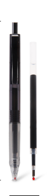 [해외]ZMAX 필기구 0.5mmU 펜 6pcs 펜 + 6 리필 무지 (MUJI) 사무실 학생 회화 로그인 일일 쓰기 필기구 슈퍼 파인/ZMAX Writing Supplies 0.5mmU Pen 6pcs pen+6refills MUJI Office Student Pai