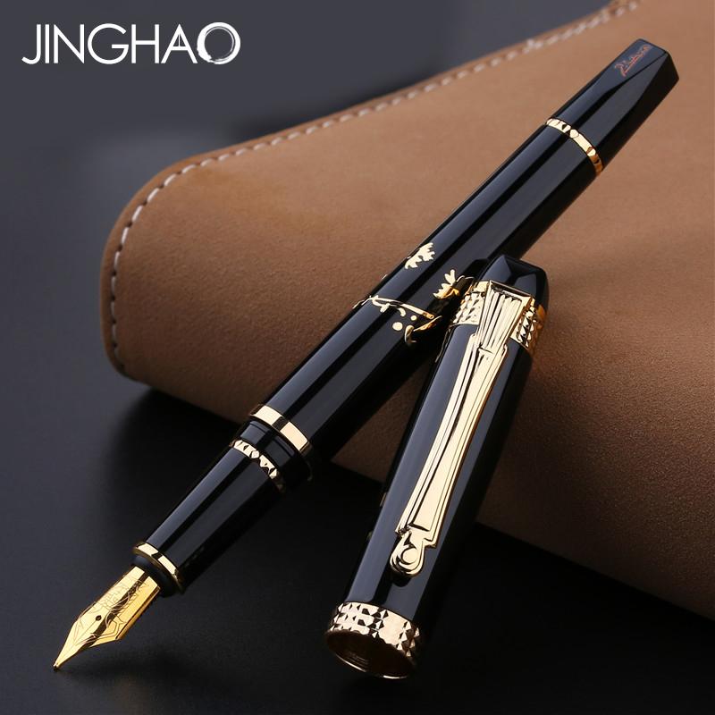 [해외]하이 엔드 기프트 필기구 Pimio 926 만년필 Iraurita Nib 0.5mm 메탈 잉크 펜젠 오리지널 기프트 박스/High-end Gift Writing Stationery Pimio 926 Fountain Pen Luxury Iraurita Nib 0.