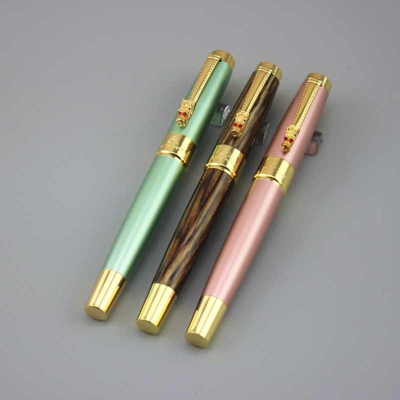 [해외]?남성 여성 DKW 만년필 고품질 금속 펜 비즈니스 선물 아버지 선물 럭셔리 caneta 5pcs 잉크 주머니 041을 보내/ male female DKW fountain pen High quality metal pens business gift father g
