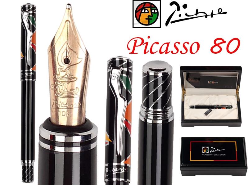 [해외]M 만년필 10K 솔리드 골드 Nib 피카소 80 사무실과 학교 문구/M Fountain Pen  10K Solid Gold Nib Picasso 80 office and school stationery