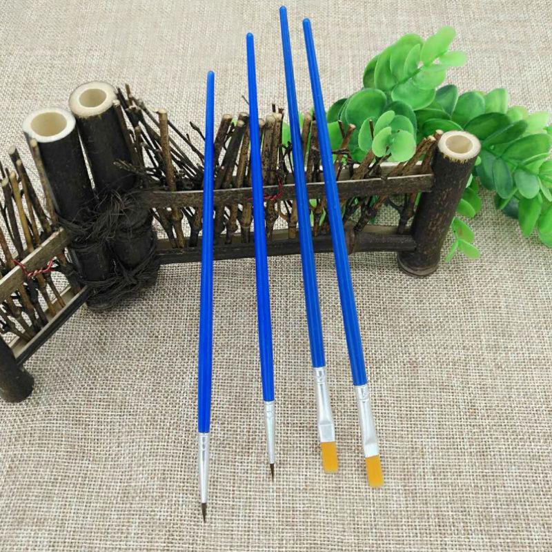 [해외]100Pcs / Set 나일론 헤어 파인 수제 아트 펜 페인트 브러시 용품 페인팅 아트 브러시 오일 DIY/100Pcs/Set Nylon Hair Fine Handmade Art Pen Paint Brush Supplies Painting Art Brushes