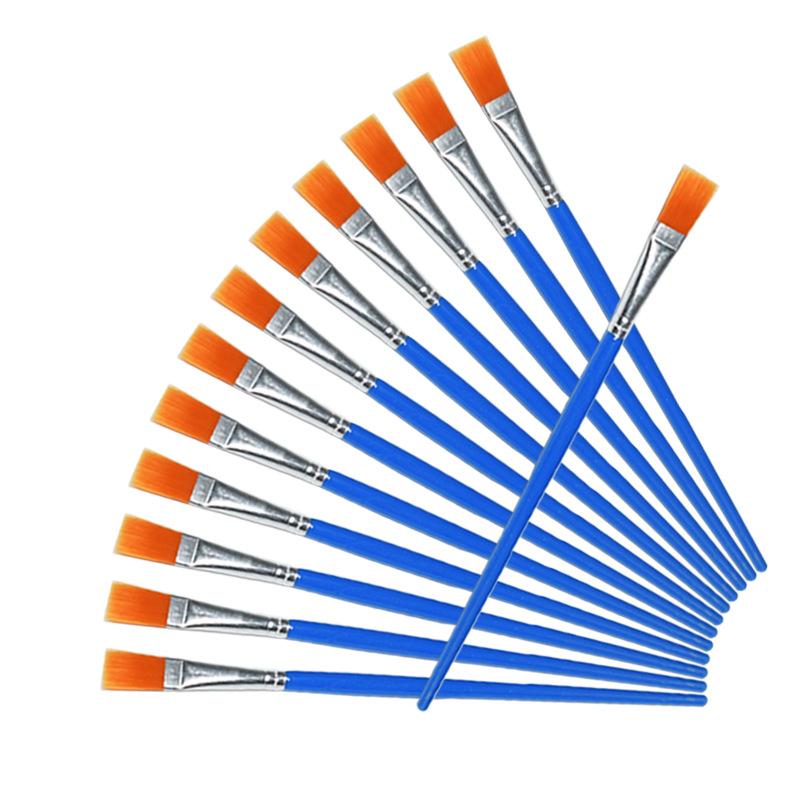 [해외]100pcs / Set가는 얇은 후크 라인 플랫 나일론 펜 페인트 브러시 드로잉 아트 수채화 미술 용품 ??그림/100Pcs/Set Fine Thin Hook Line Flat Nylon Pen Paint Brush Drawing Art Watercolor Ar