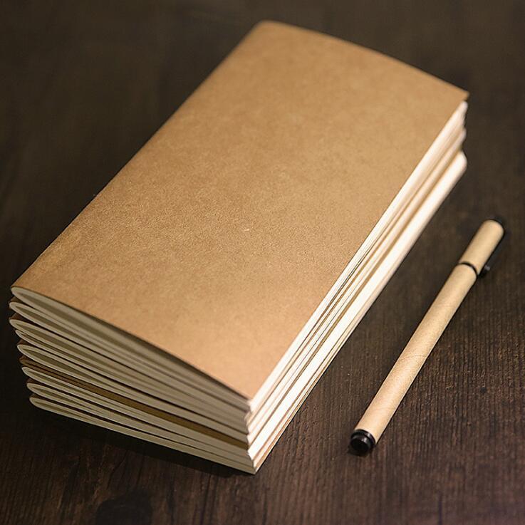 [해외]표준 21 * 11cm 여행 위클리 플래너 캘린더 크래프트 종이 여행 다이어리 노트북 학교 용품/Standard 21*11cm Travel Weekly Planner Calendar Kraft Paper Travel Diary Notebook School Sup