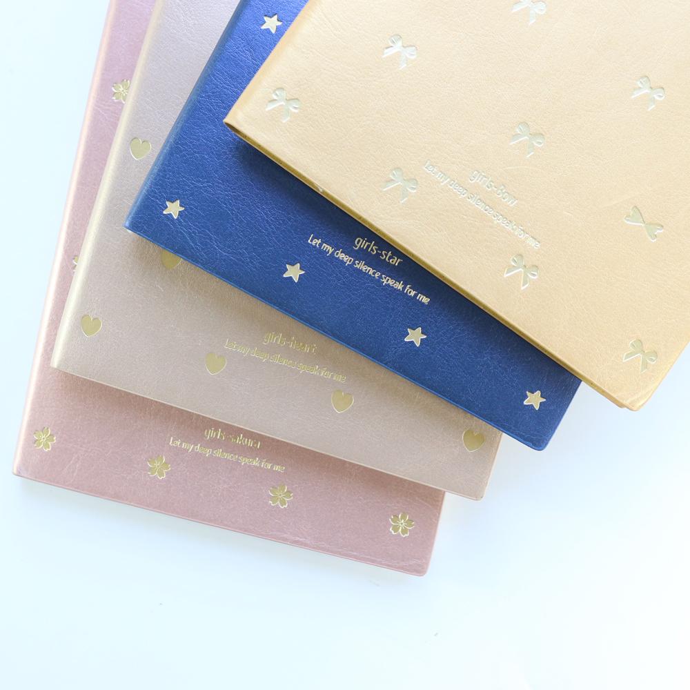 [해외]도미 키 새로운 귀여운 사무실 학교 가죽 일일 시간 플래너 노트북 편지지, 호일 우레탄 학생 시간 시간 오거나이저 선물 A5/Domikee new cute office school leather daily time planner notebooks statione