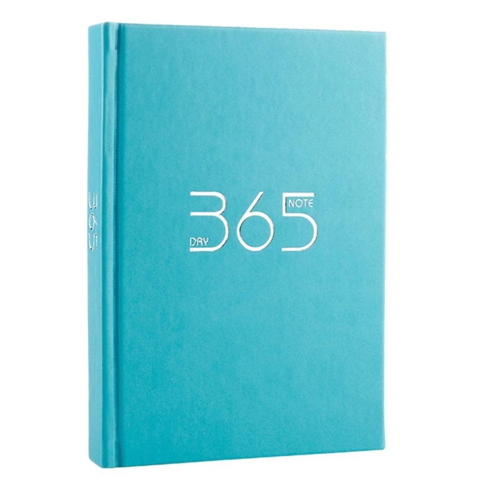 [해외]양장본 365 일 플래너 학생 개인 일기 일기 노트 노트장 노트 학교 학교 문구/Hardcover 365 Days Planner Students Personal Diary Journal Notebook Notepad Notebook School Office St