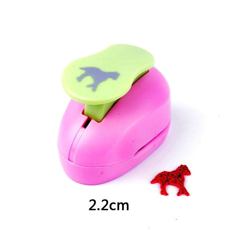 [해외]인사 카드에 대 한 새로운 1 & (2.2 cm) 말 종이 거품 펀치 공예 펀치 수제 스크랩북 수제 펀치 DIY 장난감 EVA 구멍 펀치기/New 1& (2.2cm) horse paper foam punch craft punch for greeting c