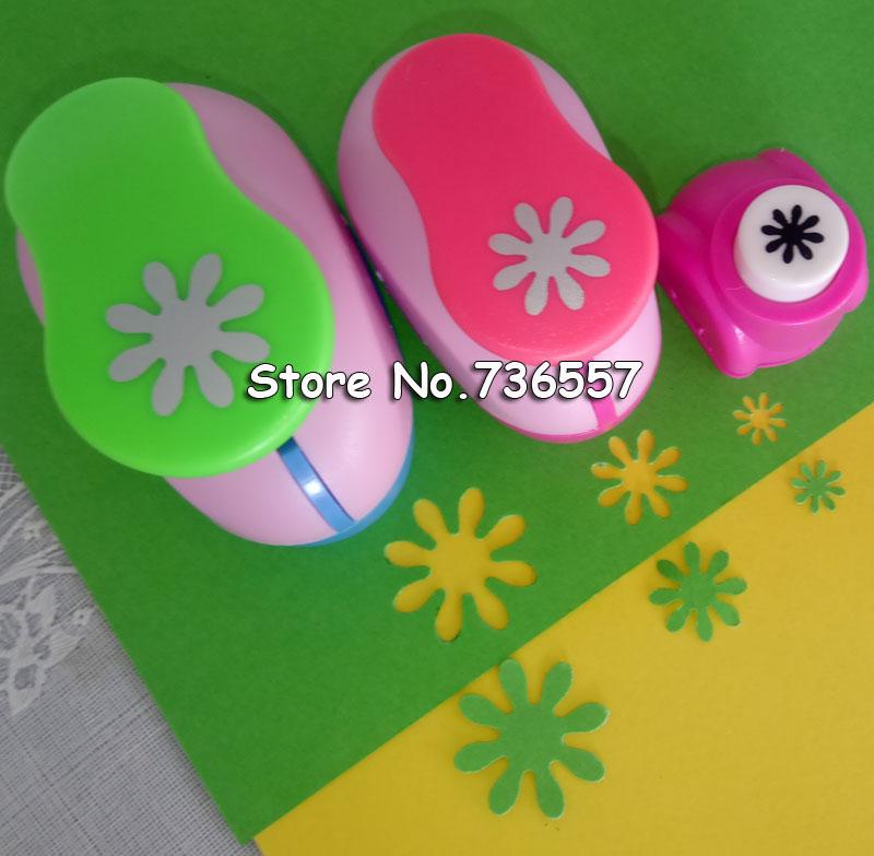 [해외]?(3 / 8 &, 5 / 8 &, 1 &) 데이지 모양 공예 펀치 Scrapbooking 학교 DIY 꽃 종이 커터 EVA foam Petal Hole Punches/ (3/8&,5/8&,1&) Daisy Shaped craft punch