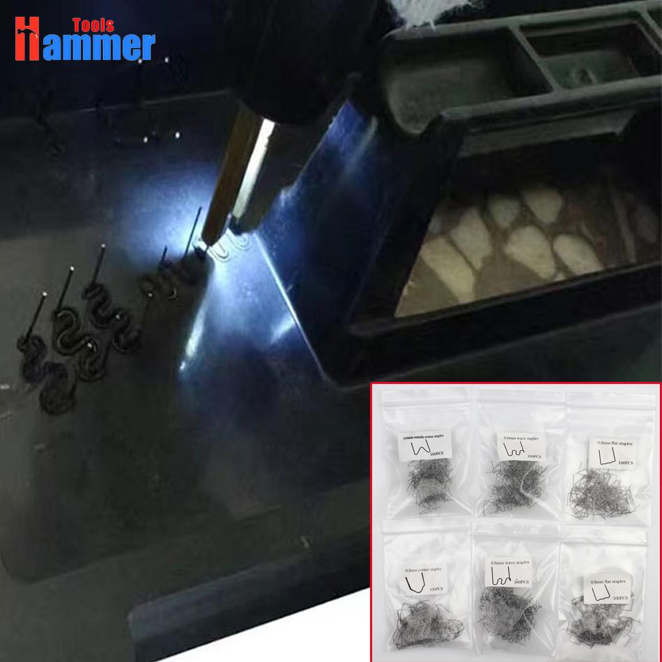 [해외]600pcs Hot 스테이플러에 대 한 0.8 mm 0.6 mm 스테이플 플라스틱 용접기 스테이플 플라스틱 용접 기계/600pcs 0.8mm 0.6mm staples plastic welder staple for Hot stapler Plastic welding
