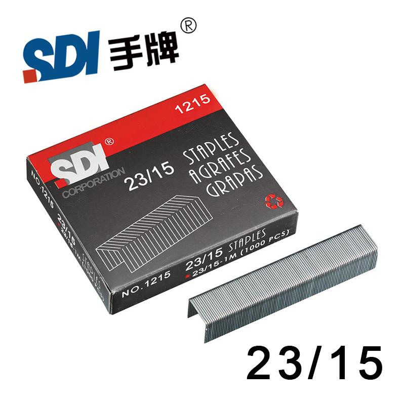 [해외]큰 스테이플러 실버 메탈 1000pcs / 박스 1215에서 대만 SDI 23/15 헤비 듀티 스테이플 스테이플/Taiwan SDI 23/15 Heavy Duty Staple Staples in big Stapler Silver Metal 1000Pcs/Box