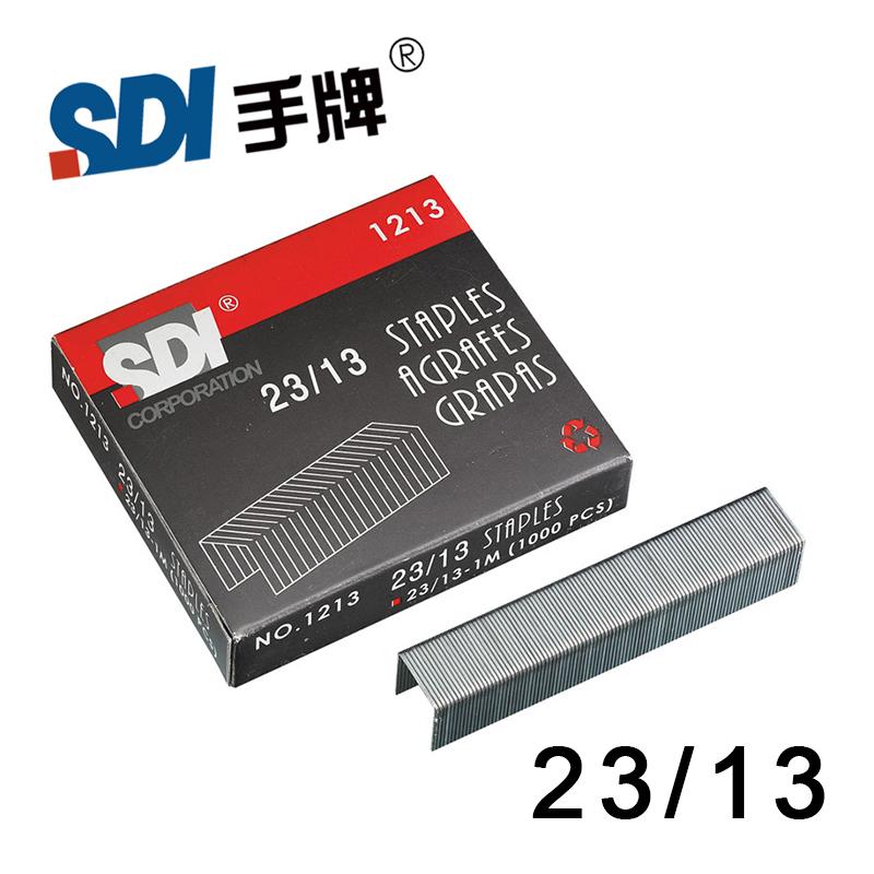 [해외]큰 스테이플러 실버 메탈 1000pcs / 박스 1213 대만 SDI 23/10 무거운스테이플 스테이플/Taiwan SDI 23/10 Heavy Duty Staple Staples in big Stapler Silver Metal 1000Pcs/Box 1213