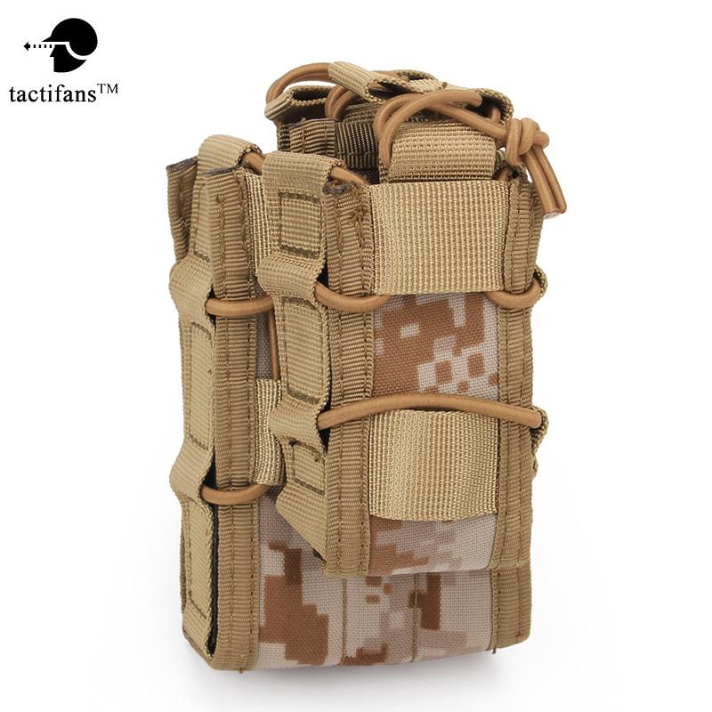 [해외]TACTIFANSDouble Decker 매거진 파우치 Airsoft Mag Pouch 밀리터리용 가방 MOLLE Camouflage Hunting Bag 전술 Double Magazine Mag/TACTIFANSDouble Decker Magazine Pouc