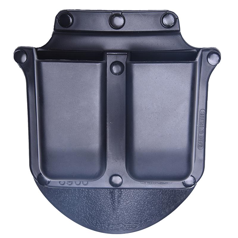 [해외]남자 & s 오른손 헌팅 벨트 권총 총 6900 Panitball Hunting Double Magazine Holster for Glock H & amp; K 9mm 사냥 airsoft/Men&s right hand Hunting belt hol