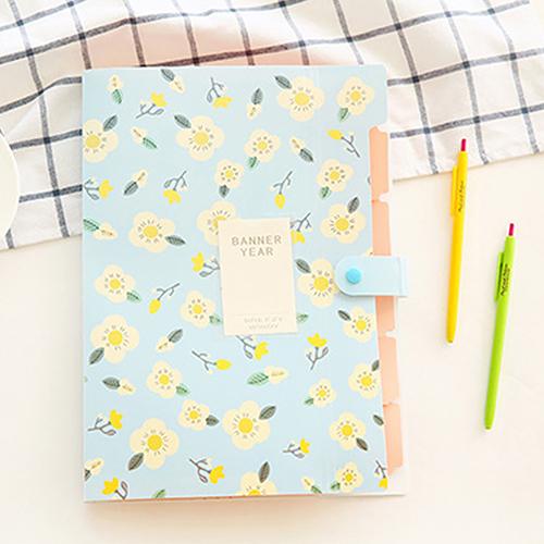 [해외]패션 클래식 플로랄 종이 파일 문서 가방 주머니 폴더 가방 학교 편지지/Fashion Classic Floral Paper File Document Bag Pouch Folder Bag School Stationery