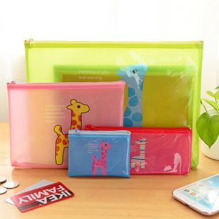 [해외]1pcs 한국 문구 Fawn A5 메쉬 가방 서류 가방 4 15009/1pcs Korean stationery wholesale Fawn A5 Mesh Bags Document Bags 4 15009