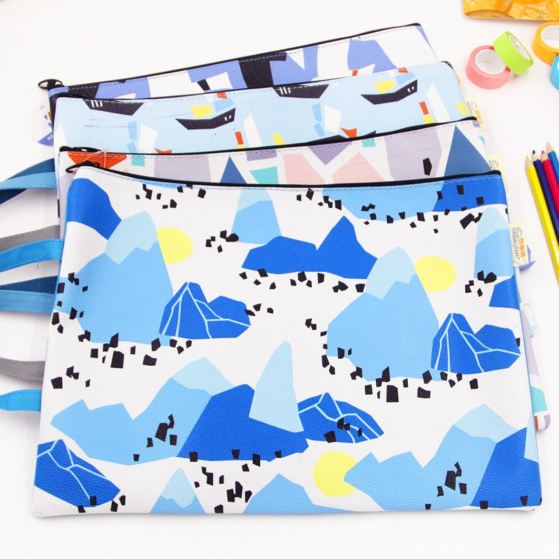 [해외]1pcs 한국 문구 지퍼 가방 및 제 퍼 시리즈 지퍼 케이스 패션 PU 다기능 주최자/1pcs Korea Stationery Zipper Bags and Zephyr Series Zipper Cases Fashion PU Multifunctional Organi