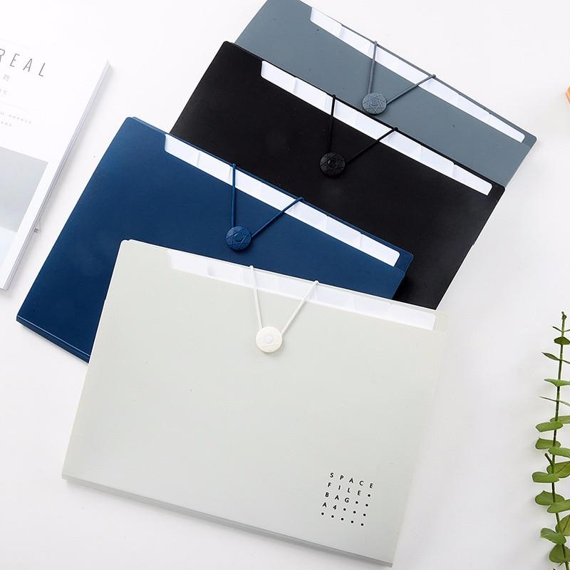 [해외]1pcs 비즈니스 오피스 편지지 학생 다층 폴더 선물 간단한 시험 논문 폴더 시험 오르간 팩/1pcs Business Office Stationery Student Multi-layer Folder Gift Simple Examination Papers Fold