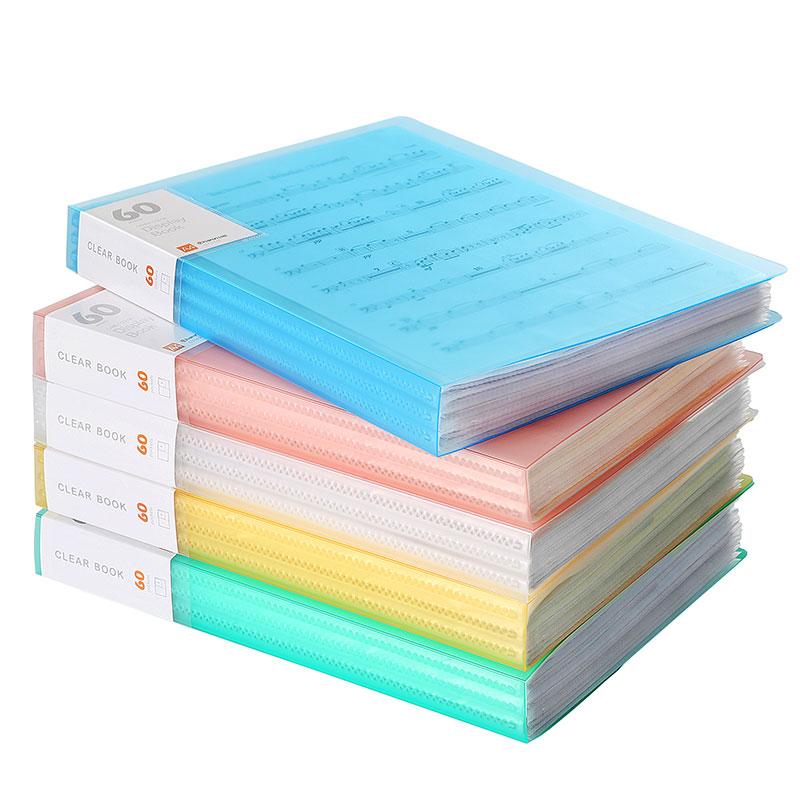 [해외]A4 파일 폴더 정보 책 종이 클립 폴더 학생 폴더 가방 다층 투명 문서 폴더 A4 사무 용품/A4 File Folder Information Book Paper Clip Folder Student Folders Bag Multi-Layer Transparent
