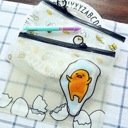 [해외]크리 에이 티브 만화 파일 가방 지퍼 연필 케이스 가방 방수 종이 절묘 한 사무 용품 PVC 내구성.-0543/Creative Cartoon File Bag Zipper Pencil Case Bag Waterproof Paper Exquisite Office S