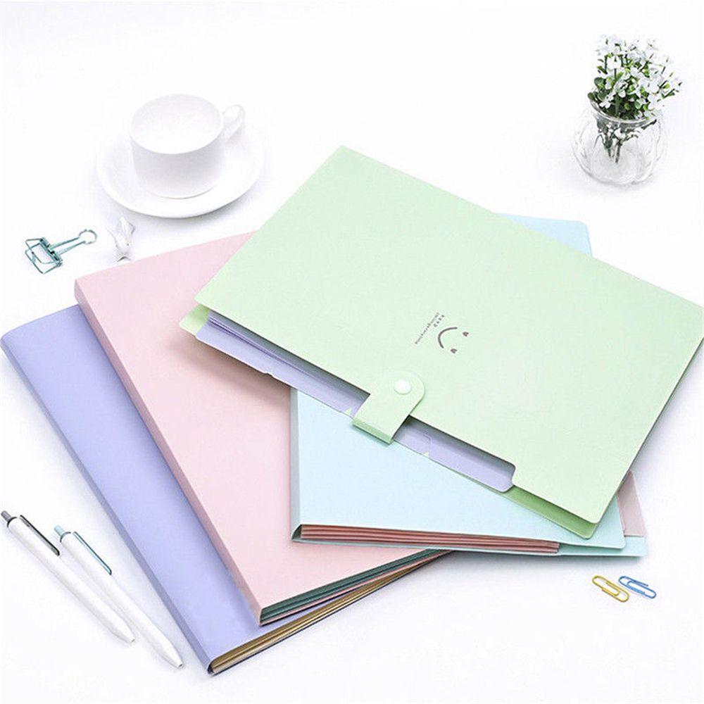 [해외]사무실 플라스틱 폴더 멀티 포켓 주최자 A4 파일 확장 문서 폴더/Office Plastic Folders Multi Pocket Organizer A4 File Expansion Document Folder