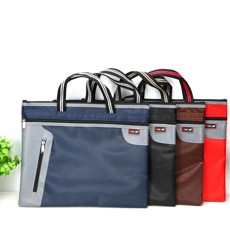 [해외]새로운 B4 휴대용 비즈니스 서류 가방 정보 가방 비즈니스 여행용 사무용품 sman 학생 편리한 보관/New B4 Portable Business Briefcase Information Bag Office Supplies for Business Travel sm