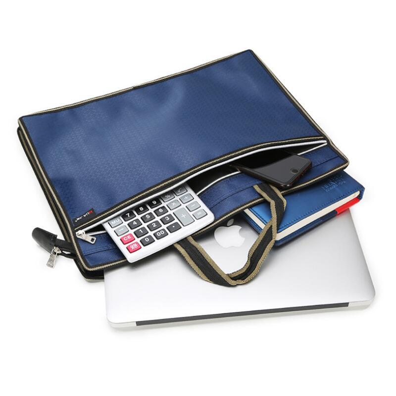 [해외]HUAJIE 새로운 스테레오 스코픽 B4 서류 가방 보관함 회사 업무용 사무용품 사무실 Portable Document Bag/HUAJIE New Stereoscopic B4 Briefcase Storage Bag Office Supplies for Corpor