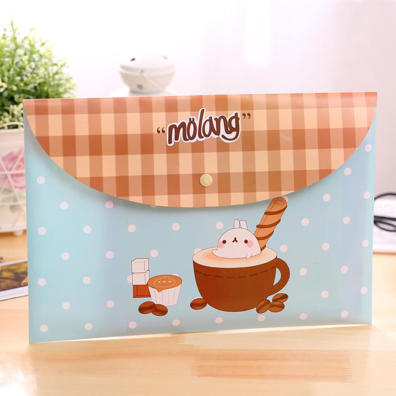 [해외]12pcs / lot 한국어 학생 귀여운 A4 종이 봉투 신선한 꽃 투명한 파일 폴더 스냅 키트 사무 용품 WJ - XXWJ492 -/12pcs / lot Korean students cute A4 paper bags fresh floral transparent