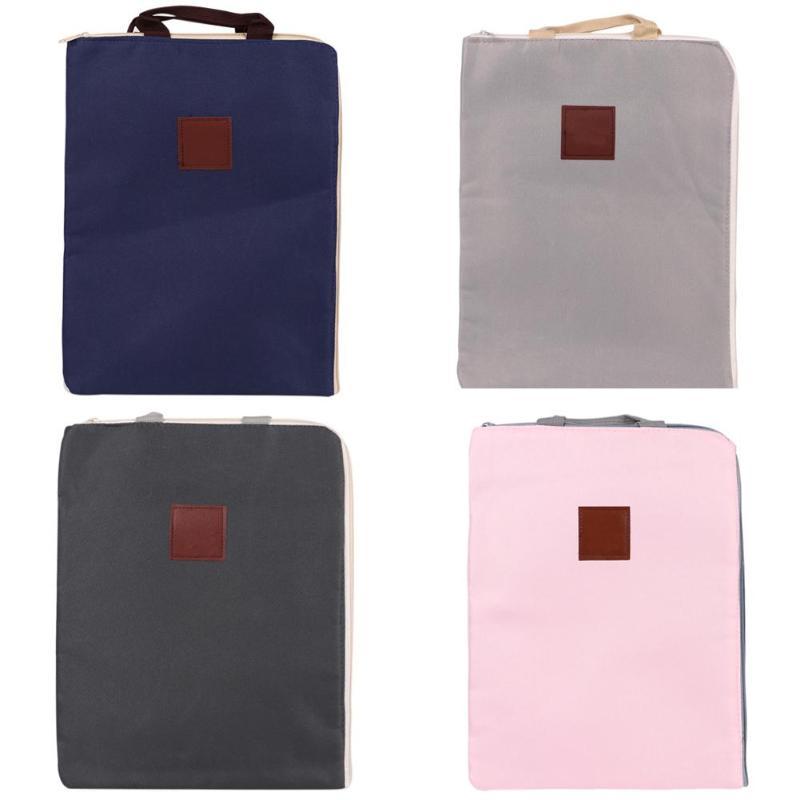 [해외]휴대용 비즈니스 서류 가방 스토리지 파일 폴더 주최 옥스포드 헝겊 문서 홀더 다기능 사무 용품 가방/Portable Business Briefcase Storage File Folder Organizer Oxford Cloth Document Holder Mul