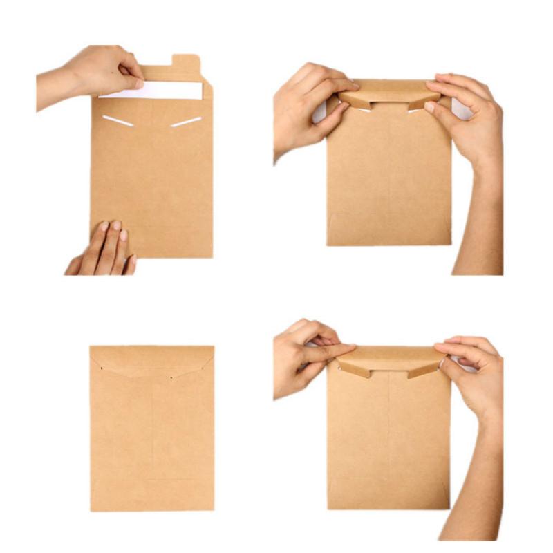 [해외]20pcs 크래프트 봉투 봉투 A4 A5 종이 학교 파일 주최자 홀더 서류 파일 제품 서류 가방 폴더 집행/20pcs Kraft Envelope Bag A4 A5 Paper school File organizer Holder Document filing prod