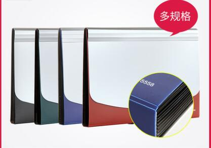 [해외]다기능 문서 오르간 가방 A4 확장 파일 폴더 홀더 버튼 플라스틱 학교 폴더 주최자/Multi-function Document Organ Bag A4 Expanding File Folder Holder Button Plastic School Folder Orga