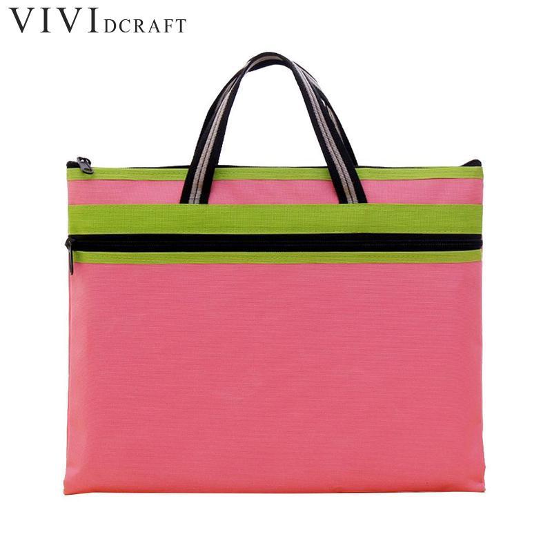 [해외]?방수 직물 비즈니스 가방 파일 홀더 대용량 문서 정보 가방 A4 핸드백 사무실 파일 가방/ Waterproof Fabric Business Bag File Holders Large Capacity Document Information Bag A4 Handbag