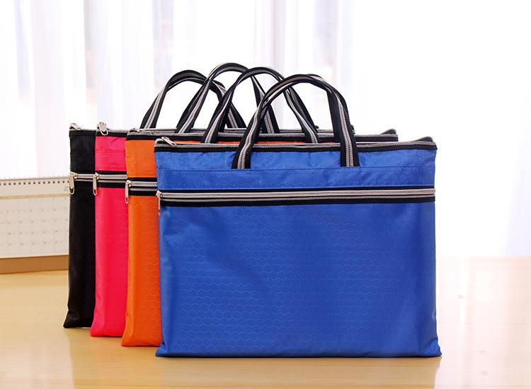 [해외]문서 홀더 폴더 비즈니스 저장 패브릭 파우치 휴대용 포켓 청구서 파우치 파일 패키지 폴더 Office & amp; 학용품/Document Holder folder Business Storage fabric pouch Package for portable
