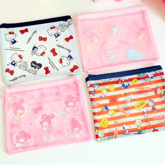 [해외]귀여운 만화 패턴 화장품 가방 방수 화장품 주최 메이크업 저장 가방 여행 주최자/Cute Cartoon Pattern Cosmetic Bag Waterproof Cosmetics Organizer Makeup Storage Bag Travel Organizer