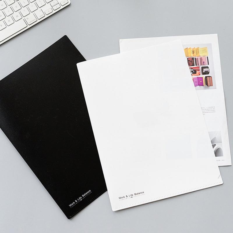 [해외]5PCS 귀여운 패션 투명 A4 폴더 문서 가방 가방 파일 폴더 편지지 가방 서류 가방 WJD03/5PCS Cute Fashion Transparent A4 Folders Document Filing Bag File Folder Stationery Bag Fil