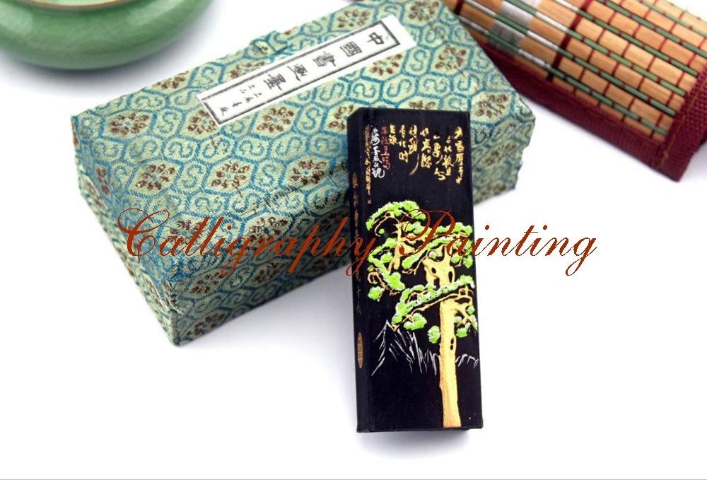 [해외]유명한 브랜드 Caosugong 잉크 스틱 청색 잉크 달필 회화 Sumi-E Qingmo/Famous Brand Caosugong Ink Stick Blue Ink Calligraphy Painting Sumi-E Qingmo