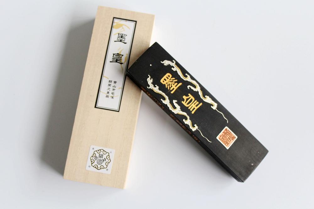[해외]최고의 슈퍼 파인 오일 그을음 잉크 스틱 Hukaiwen 브러쉬 서예 수미 - E/Best Super Fine Oil Soot InkStick Hukaiwen Brush Calligraphy Painting Sumi-E