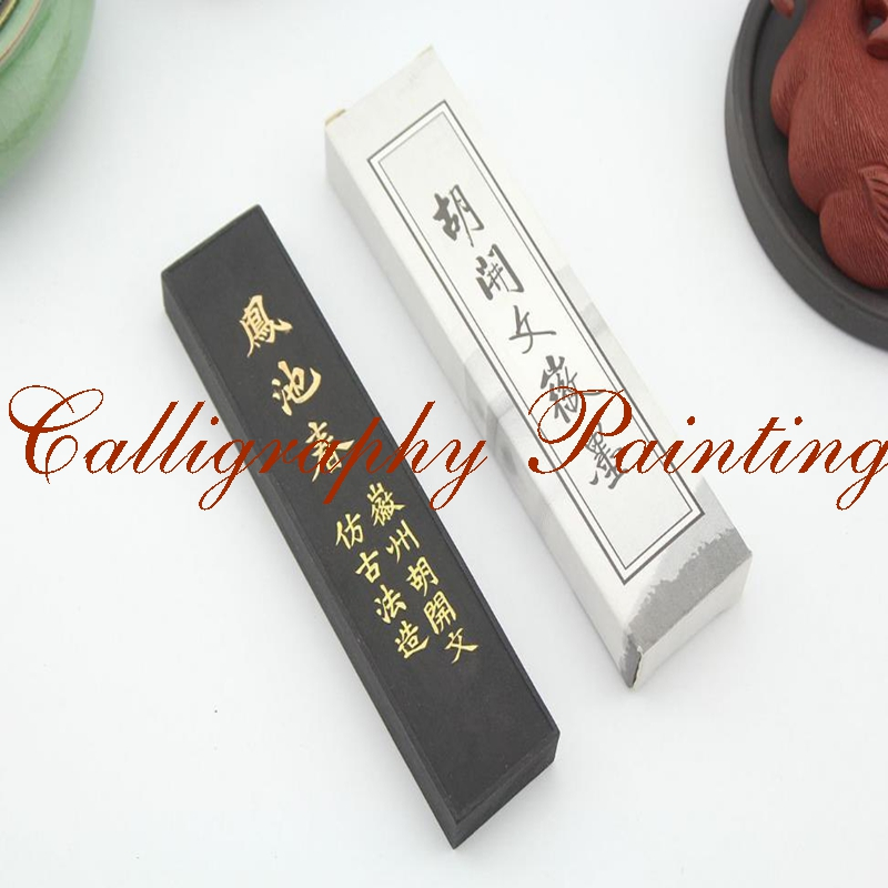 [해외]파인 스펀지 잉크 스틱 후 카이엔 브러쉬 서예 수미 - E/Fineness Pine Soot Ink Stick Hukaiwen Brush Calligraphy Painting Sumi-E