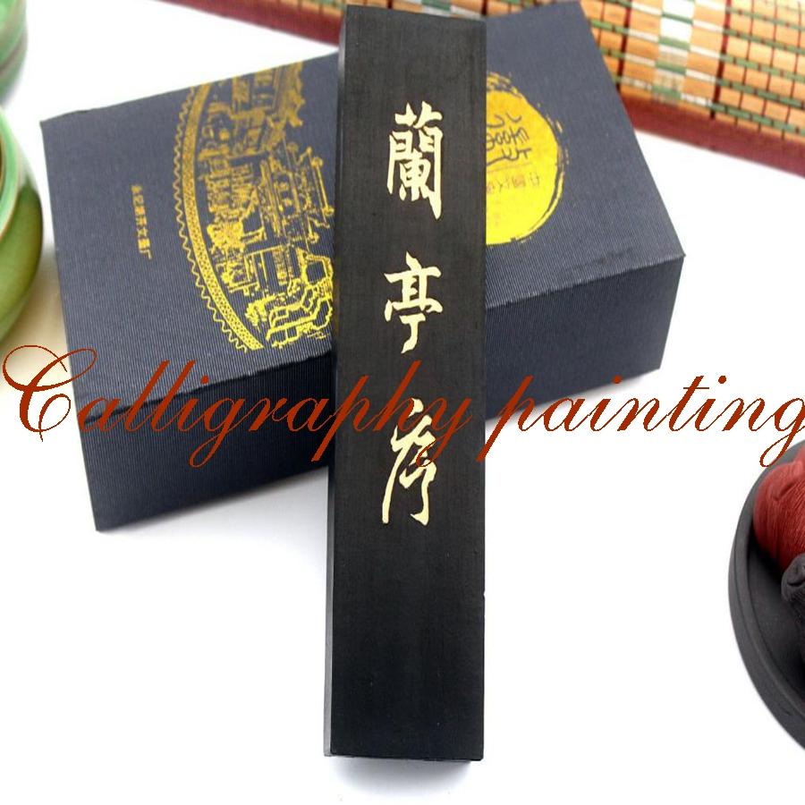 [해외]슈퍼 파인 오일 그을음 어 잉크 스틱 어 원본 Hukaiwen Huimo Lantinxu/Super Fine Oil Soot Chinese Ink Stick Chinese Original Hukaiwen Huimo Lantinxu