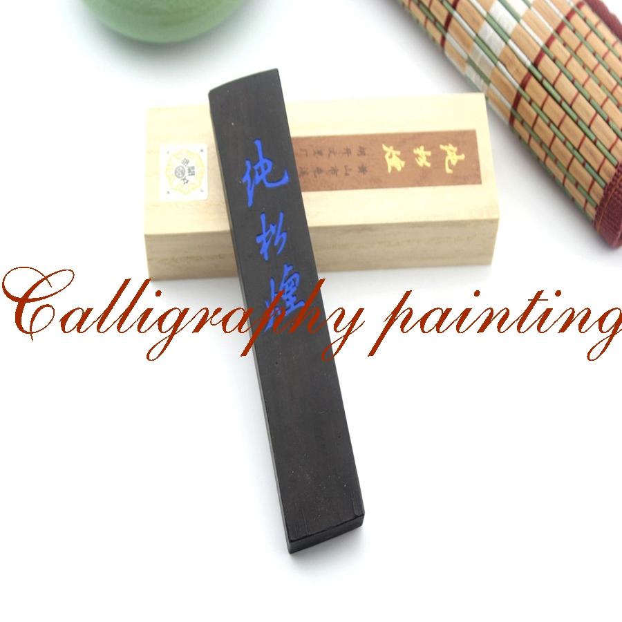 [해외]어 유명한 브랜드 Hukaiwen의 섬세한 파인 그을음의 잉크 스틱 원래/Chinese Famous Brand Hukaiwen Fineness Pine Soot Ink Stick Original