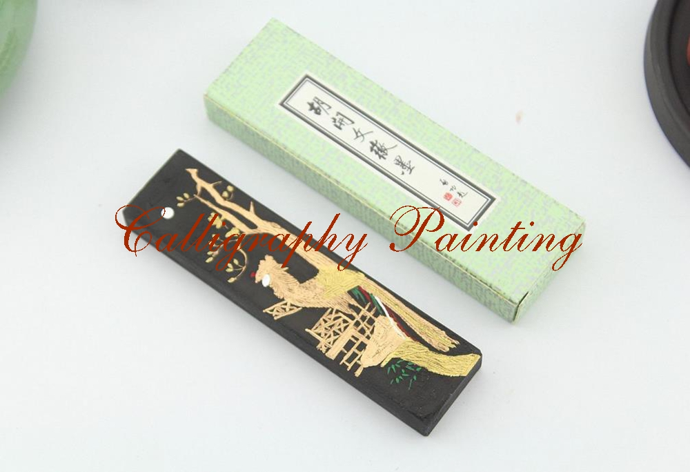[해외]1pc 파인 스펀지 파인 스틱 잉크 스틱 후 카이엔 브러쉬 서예 수미 - E/1pc Fineness Pine Soot Ink Stick Hukaiwen Brush Calligraphy Painting Sumi-E