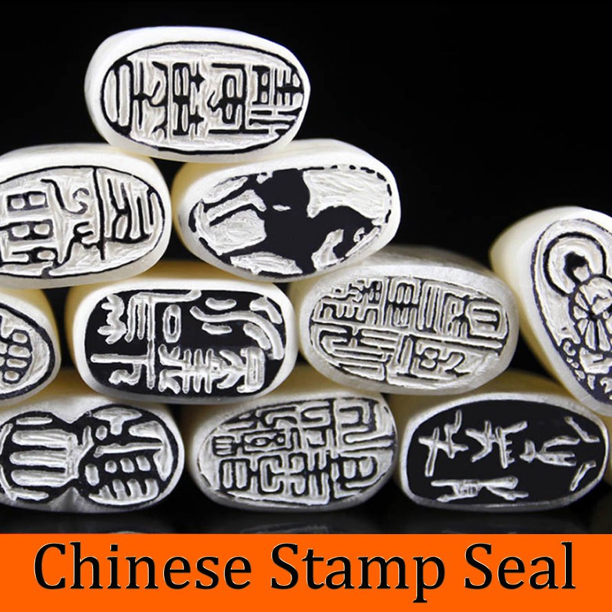 [해외]서예 회화에 대한  전통 우표 인장 캐쥬얼 인감 인장 삽화 세트/Chinese traditional Stamp Seal for Painting Calligraphy Casual Name Seal Art supplies set