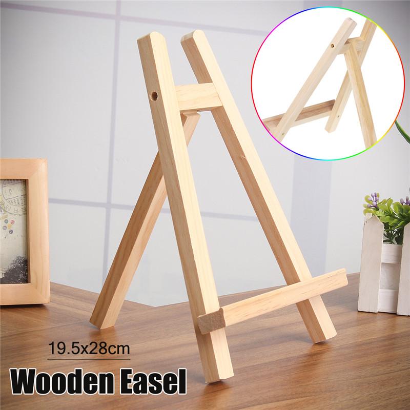 [해외]19.5x28cm 너비 너트 나무 아티스트 아트 이젤 크래프트 목조 조절 식 웨딩 테이블 카드 스탠드 디스플레이 홀더/19.5x28cm Table Top Display Beech Wood Artist Art Easel Craft Wooden Adjustable